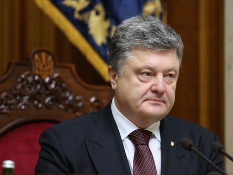 Порошенко пообещал, что система Е-деклараций заработает наДень Знаний