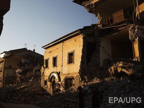 ВИталии начались проверки качества домов взоне землетрясения