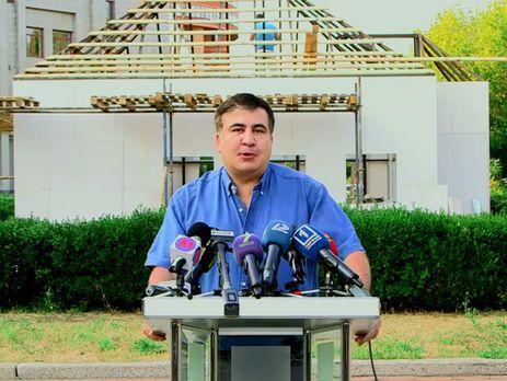 Саакашвили назвал «притоном» село вОдесской области, где граждане устроили массовые беспорядки