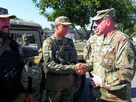 Делегация командования сухопутных войск США посетила сектор «Мариуполь»
