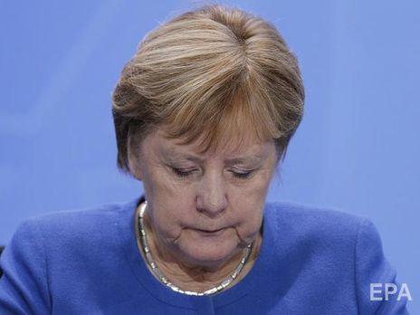 Меркель надеется на сдвиг в ситуации на Донбассе