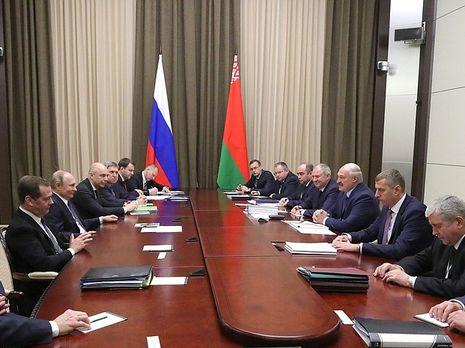 Переговоры в Сочи посвящены углублению интеграции РФ и Беларуси