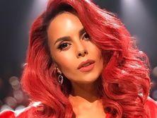 Каменских с красными волосами появилась в эфире шоу