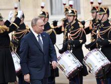 Путин провел двухсторонние встречи с Меркель и Макроном в рамках нормандского саммита