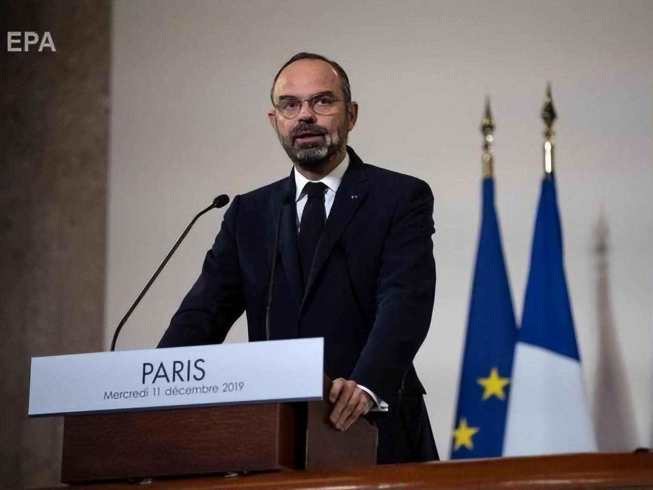 Прем'єр Франції презентував план пенсійної реформи, через яку відбуваються загальнонаціональні страйки