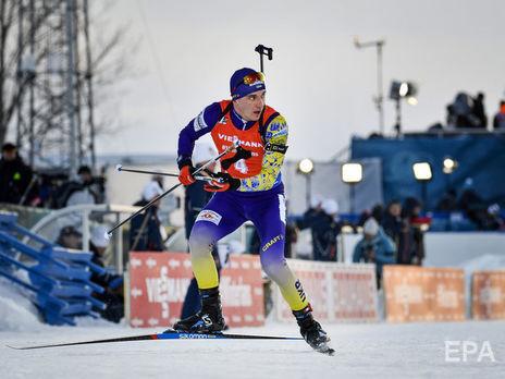 Пидручный завершил гонку с одним промахом