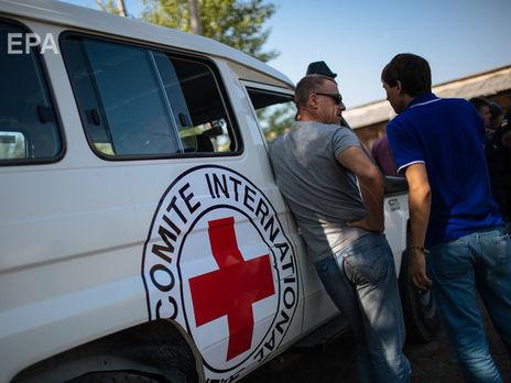 На временно оккупированные территории могут допустить Красный Крест
