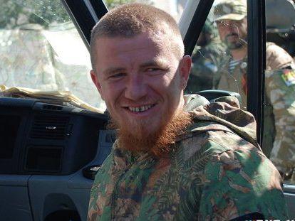 Надоме боевика Моторолы увидели флаг Украины