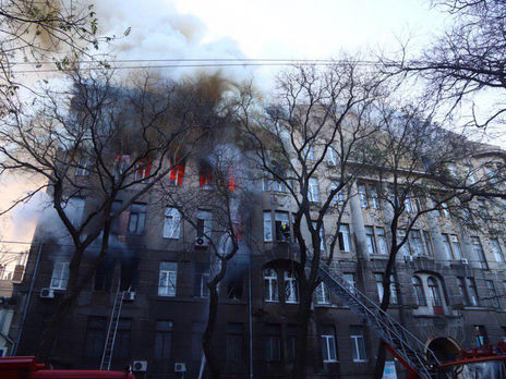 В результате пожара 16 человек погибли, 31 пострадал