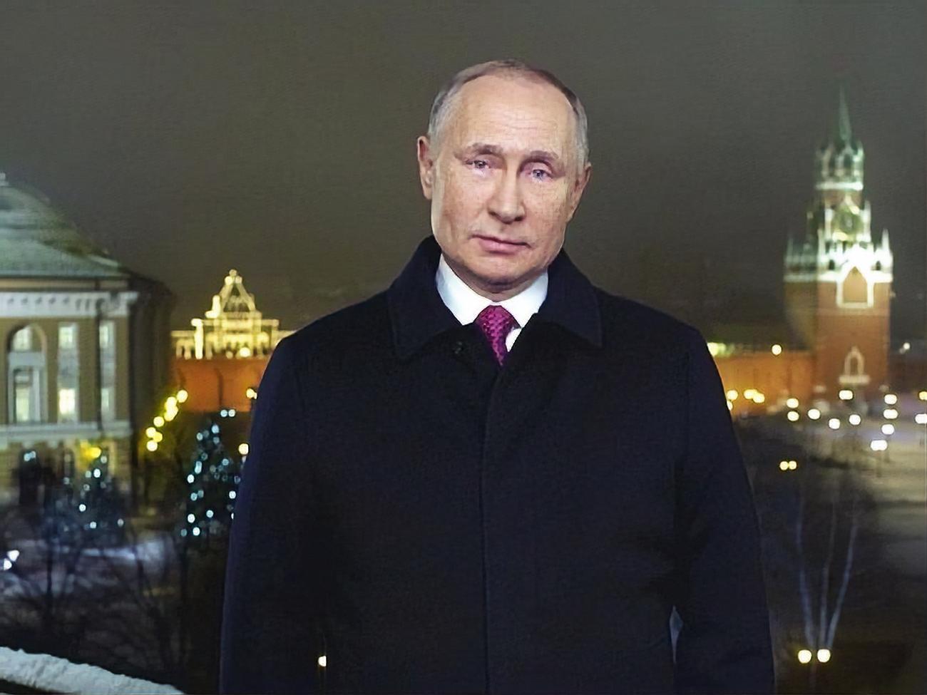 Поздравления в новым годом президент россии