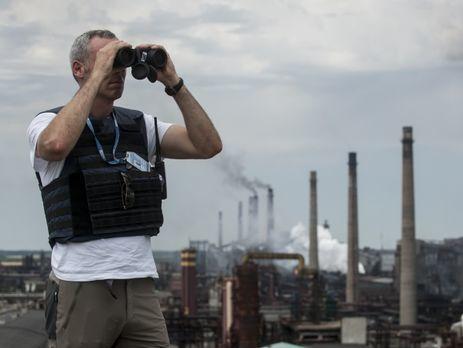 Миссия ОБСЕ сказала обугрозах оружием состороны боевиков «ДНР»