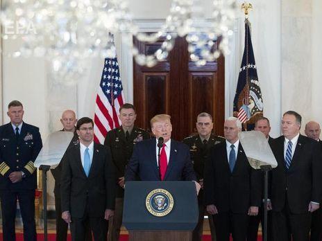 Трамп: Іран витратив отриману від США готівку для того, щоб перетворити регіон на пекло