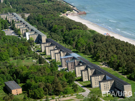ВФРГ бывшую нацистскую турбазу превратили вэлитный курорт