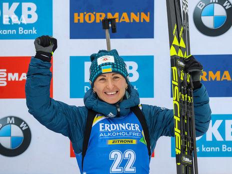 Вита Семеренко финишировала восьмой в гонке преследования. Екхофф выиграла