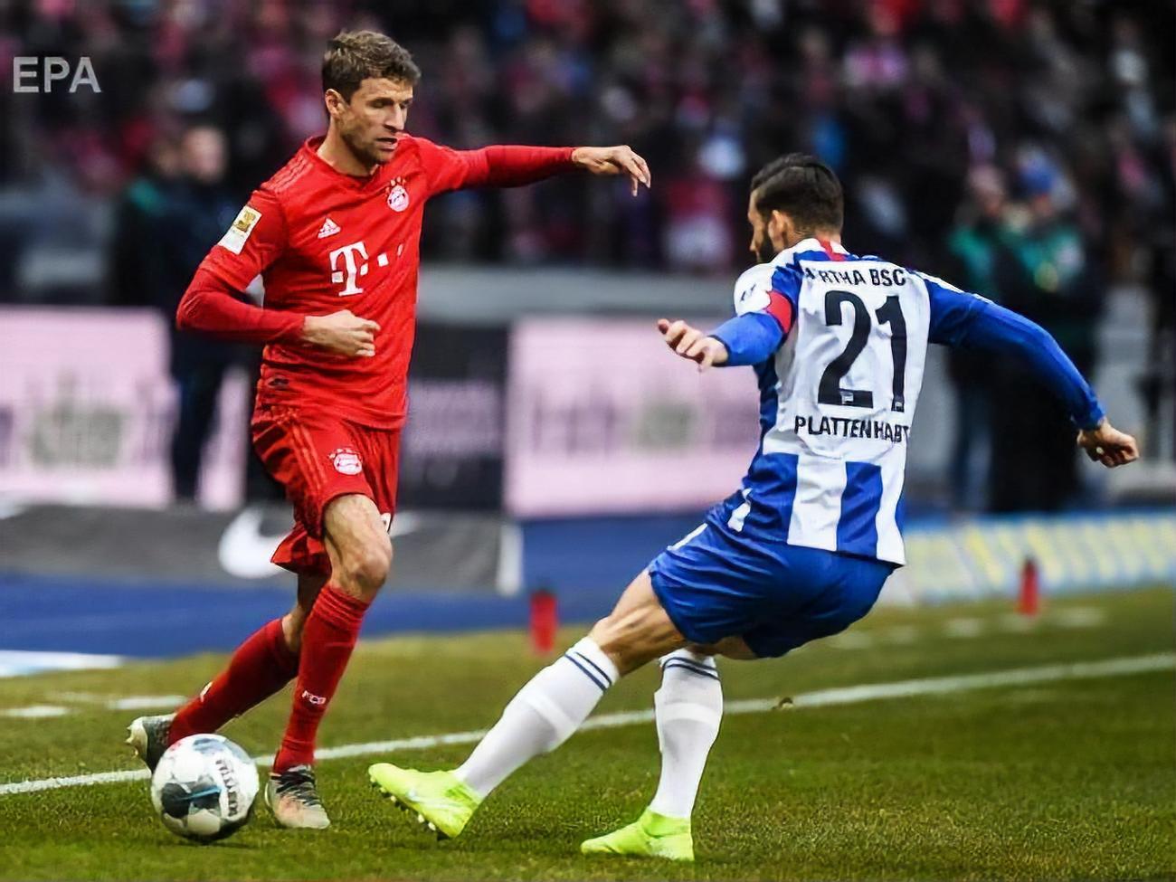 Бавария боруссия м 0 2 голы