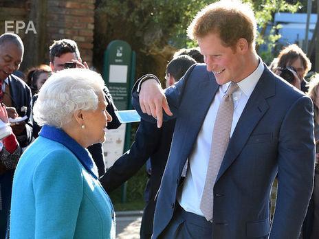 Принц Гарри покинул Англию