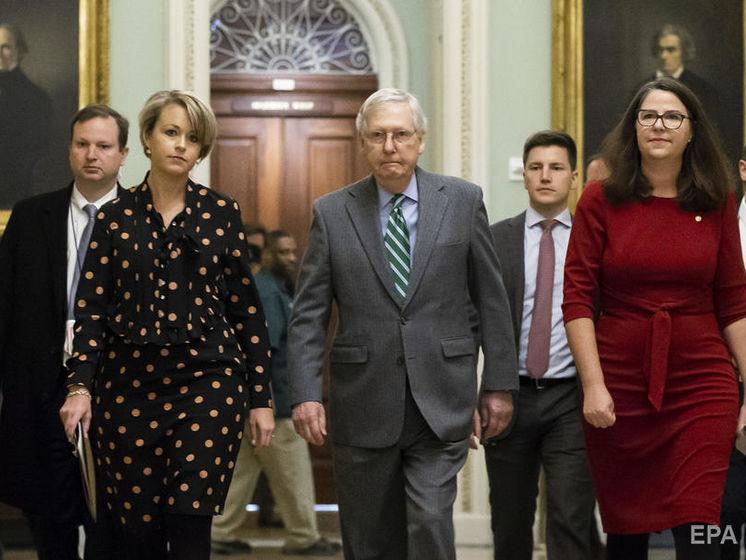 У Сенаті США розпочався судовий розгляд щодо імпічменту Трампа