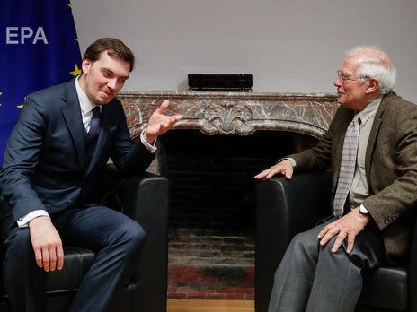 Гончарук зустрівся з Боррелем у Брюсселі