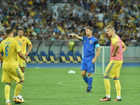 Украина будет играть сИсландией при пустых трибунах