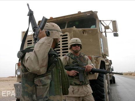 На базе в Киркуке находятся военнослужащие США