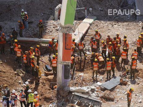 При обрушении здания вТель-Авиве пропали без вести 20 человек