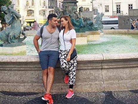 Анфиса Чехова отмечает день рождения мужа вПортугалии