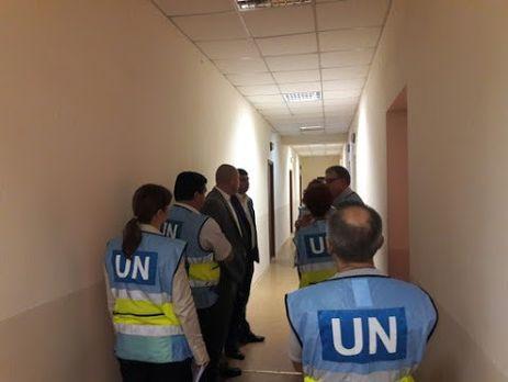 ВЗапорожье провели экскурсию для делегации ООН по«тайным тюрьмам» СБУ