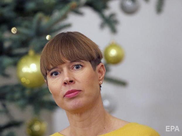 Президентка Естонії закликала світову спільноту відреагувати на атаку бойовиків на Донбасі