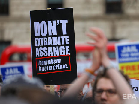 Встолице Англии начинается суд позапросу США обэкстрадиции Ассанжа