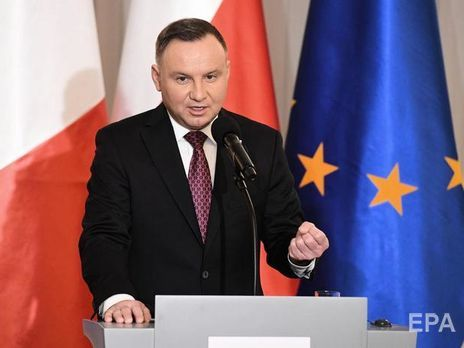 Дуда: Росія підтримує сепаратистів