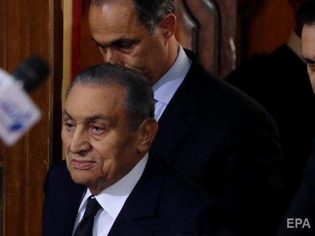 Помер експрезидент Єгипту Мубарак