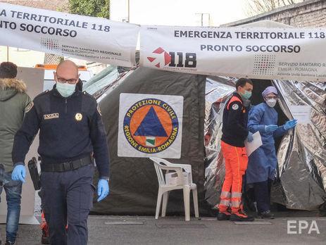 В Италии сообщают, что среди инфицированных есть медики