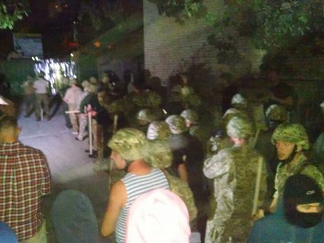 Милиция сообщила о нормализации ситуации настройке вСвятошинском районе