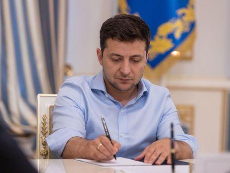 Зеленский подписал четыре закона, принятые в связи с распространением коронавируса