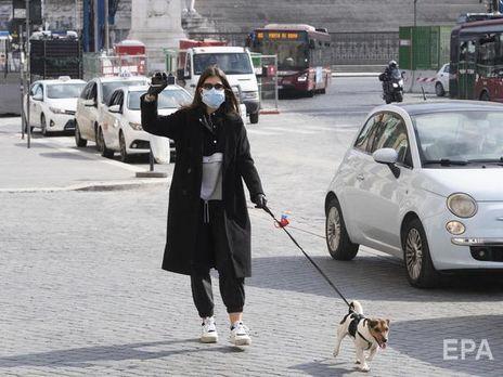 В Италии оштрафовали украинку, незаконно продающую медицинские маски