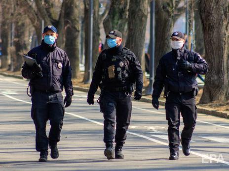 В Украине полиция составила 32 протокола за нарушение карантина