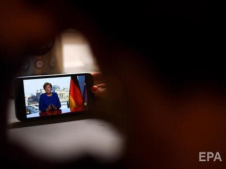 Меркель: Со времен Второй мировой войны в нашей стране не было больших вызовов, чем коронавирус
