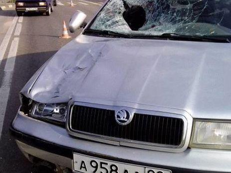 Воккупированном Крыму русский военный насмерть сбил местного жителя (фото 18+)