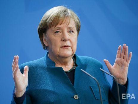 Меркель продолжит выполнять обязанности канцлера из дома