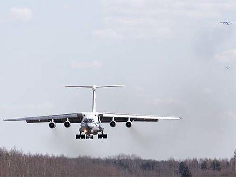 Российскую помощь доставляют в Италию на самолётах Ил-76