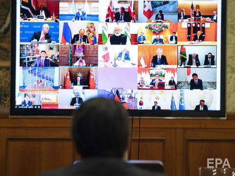 G20 провела экстренный виртуальный саммит из-за коронавируса и пообещала вложить $5 трлн в мировую экономику