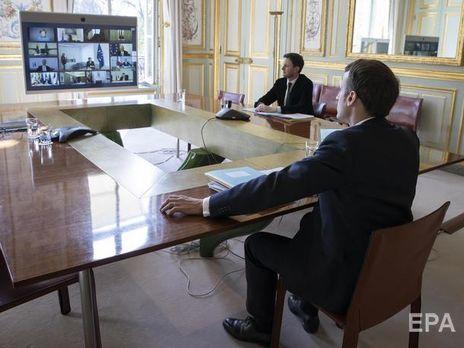 Макрон заявил, что эпидемия коронавируса ставит под угрозу судьбу Шенгенского соглашения