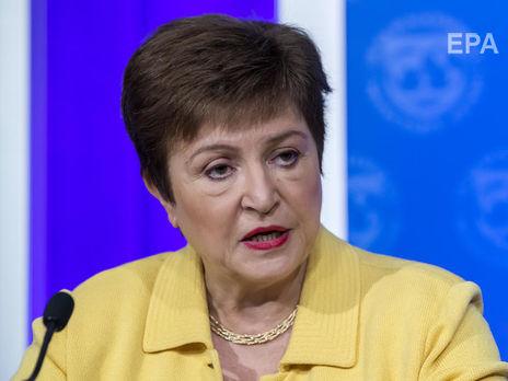 Георгиева признала факт глобальной рецессии