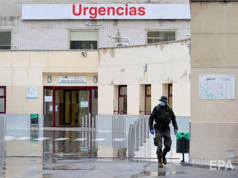 В Испании за сутки от коронавируса скончалось 849 человек. Это новый антирекорд