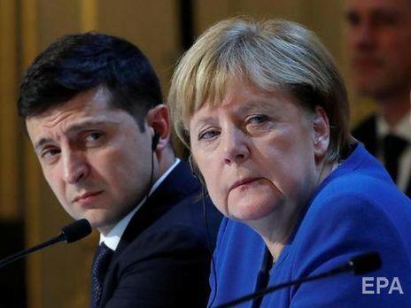 Зеленский провел телефонную беседу с Меркель