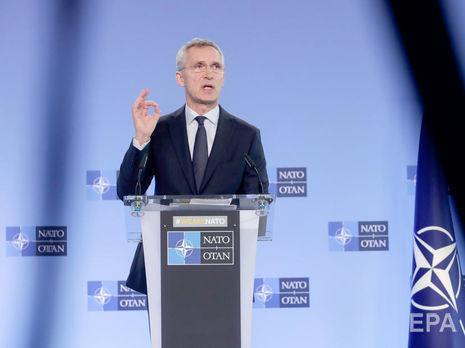 Столтенберг: НАТО 2 апреля согласует новый пакет поддержки Украины и Грузии