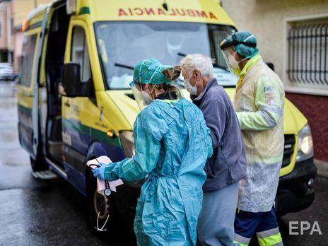 Число инфицированных коронавирусом в Испании превысило 100 тыс., за последние сутки умерло 864 человека