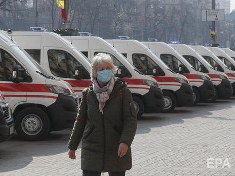 В Украине зафиксировано 804 случая инфицирования коронавирусом, 20 человек умерли