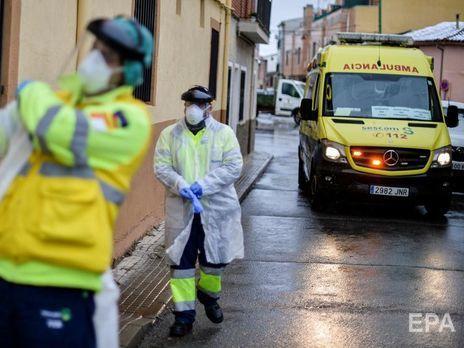 В Испании – 932 умерших от коронавируса за сутки. Страна опередила Италию по количеству инфицированных