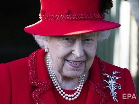 Королева Елизавета II записала обращение к нации в связи с пандемией коронавируса